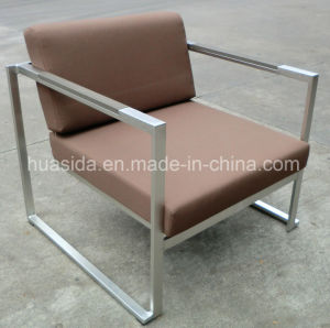 Outdoor 4-PCS Waterproof 304 Stainless Steel Sofa Set pictures & photos