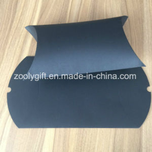 Foldable Printing Pillow Paper Gift Box Custom Paper Pillow Boxes for Gloves / Scarves Packing pictures & photos
