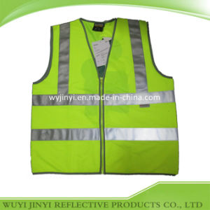 Custom Logo Reflective Safety Vest (JY-VZ118)