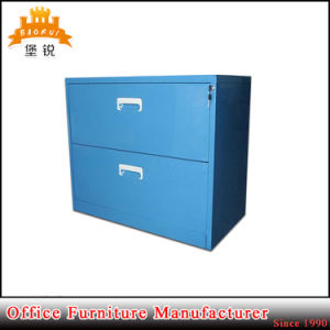 2 Two Drawer Steel Office Furniture Credenza Metal Lateral Filing Storage Cabinets pictures & photos
