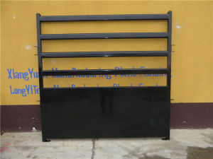 Black Powder Coated Cattle Panel Gate, Corral Gate pictures & photos