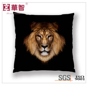 Lion Digital Printed Cushion Cover, Square Pillow pictures & photos