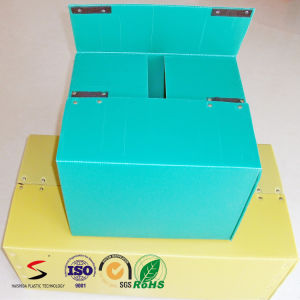 Customized DSC/Stackable Tote PP Hollow Storage Box Plastic Packaging Box pictures & photos