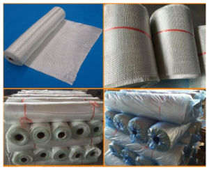 E Glass Woven Roving Fiber Glass Cloth with 225G/M2, 300G/M2 pictures & photos