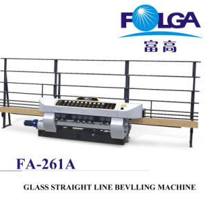 Glass Straight Line Beveling Machine (FA-261A) pictures & photos
