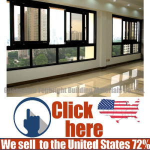 Factory Price Aluminum Double Sliding Windows with Fly Screen pictures & photos