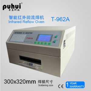 SMT Reflow Oven, PCB Soldering Machine. LED SMT Reflow Oven T-962A, Wave Soldering Machine Puhui T962A pictures & photos