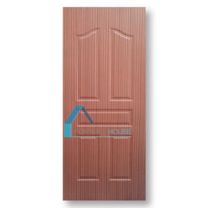 Best Selling Moulded Solid Wooden Interior Door Skin for Apartment pictures & photos