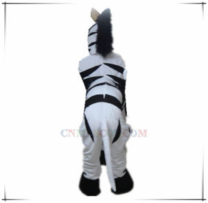 Great Craft Zebra Mascot with Four Legs pictures & photos