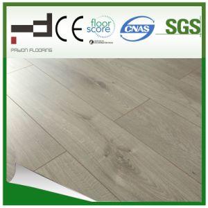 8mm German Techology Light Grey Embossment Surface Laminate Flooring pictures & photos