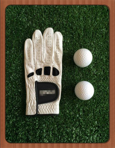 Soft Mesh Premium Cabretta Fit Golf Glove with Custom Logo
