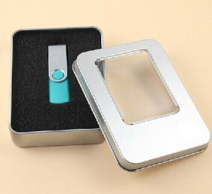 Metal Box for Crystal USB Flash Drive pictures & photos