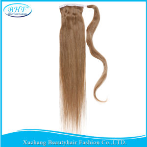 #1 Indian Virgin Hair Ponytail 14-34 Inches Human Hair Drawstring Ponytail 100g 120g 140g pictures & photos