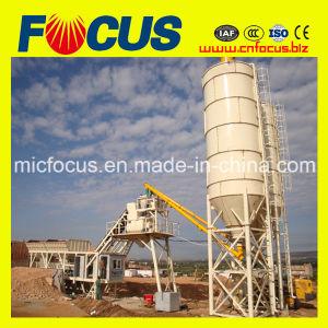 25/35/50/60/75/90/100/120m3/H Mobile Portable Concrete Batching/Mixing Plant with Simens PLC pictures & photos