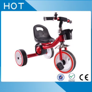 Red Color 3 Wheel Tricycle Kids with colorful Wheels pictures & photos