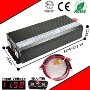 2000W DC-AC Inverter 12VDC/24VDC to 110VAC/220VAC Pure Sine Wave Inverter pictures & photos