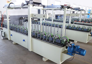 Cold and Hot Glue Profile Wrapping Machine pictures & photos