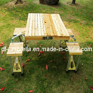 Wooden Outdoor Picnic Folding Table