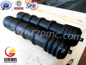 SPD Belt Conveyor Rubber Disc Return Roller Idler pictures & photos
