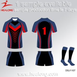 Healong Pop up College League Men′s Rugby Sports Wear pictures & photos