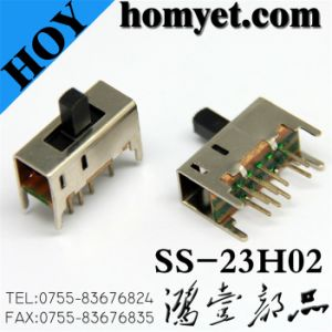 DIP Type Micro Plunger Switch/Slide Switch (SS-23H02) pictures & photos