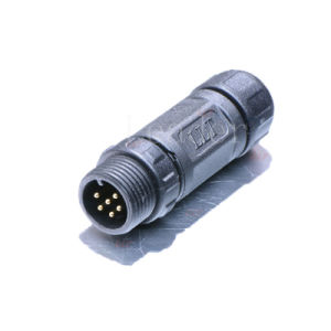 IP68 6 Pin Waterproof Male Connector pictures & photos