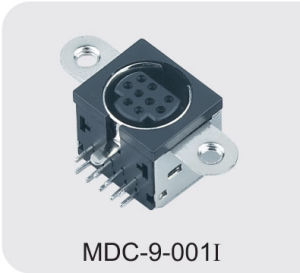 Mini DIN Connector (MDC-9-001I) pictures & photos