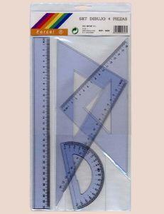 Blister Card Flexible Ruler Set pictures & photos