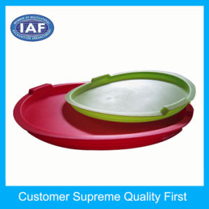 Kitchen Utensils Stainless Steel Basin Plastic Cover Mould pictures & photos