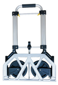 Durable Stainless Steel Folding Hand Trolley pictures & photos