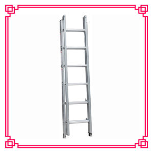 Double Extension Aluminum Ladder /Foldable Ladder pictures & photos