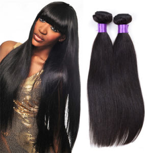 Best Quality Brazilian Virgin Hair Straight Hair Weave Bundles pictures & photos