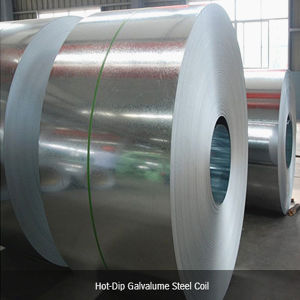 Construction Material Galvalume Steel Sheet Roll Excellent Strength Ce ISO pictures & photos