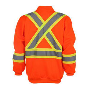 Winter Strip Orange Safety Jacket pictures & photos