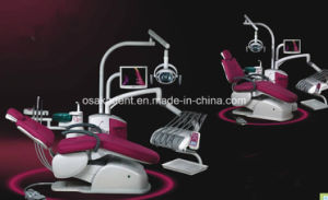 Osa-A6600 Electrict Larger Comfortable Dental Chair Unit with New Design pictures & photos