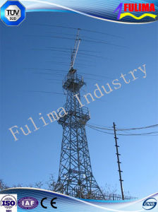 Customed Crown Type Durable Communication Tower (FLM-ST-029) pictures & photos