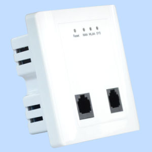 in-Wall 802.11n Panel Wireless Access Point 300Mbps Support Poe (TS302F) pictures & photos