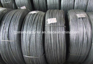Export High Quality Hot DIP Galvanized Steel Strand pictures & photos