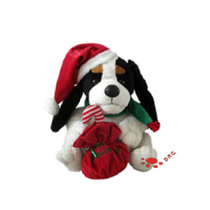 Plush Cartoon Dog Stuffed Toy for Christmas Dog pictures & photos