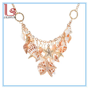 Summer Beach Multilayer Starfish Shell Necklaces pictures & photos