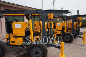 Trailer Type Water Well, Geological Prospecting, Mining Drilling Rig pictures & photos