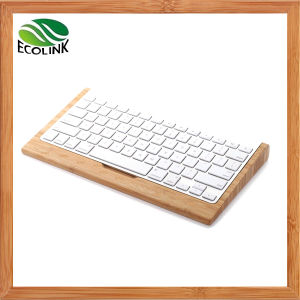 Bamboo Wireless Keyboard Stand for Apple Mini Computer pictures & photos