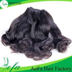 Aunty Funmi Hair Pieces100% Human Hair From Aofa Factory pictures & photos