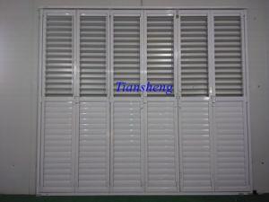 High Quality Aluminum Bifold Shutter Door pictures & photos
