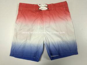 Oeko-Tex Flat Waist Polyester Contract Color Men Board Short Swimwear pictures & photos
