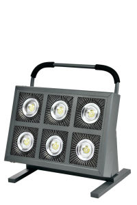 LED Flood Light 600W Rechargeable LED Floodlight pictures & photos