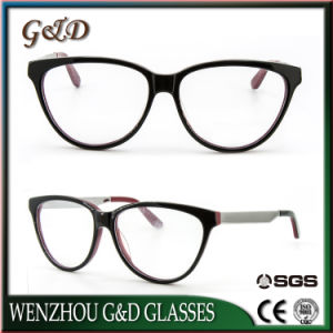New Model Acetate Spectacle Frame Eyewear Eyeglass Optical Frame pictures & photos