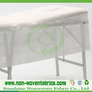 White Disposable Non-Woven Bed Sheet in Roll pictures & photos