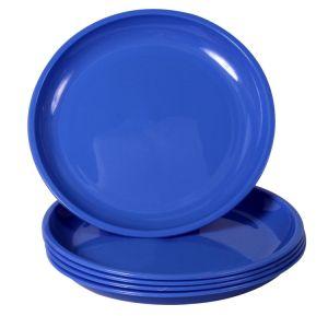 "FDA Standard Custom Designs Melamine 9""Round Dinner Used Restaurant Plate pictures & photos"