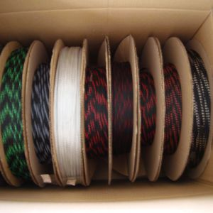 Nylon Cable Braided Polyester Sleeving pictures & photos